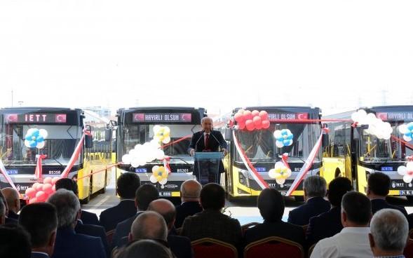 Başkan Uysal 375 otobüsü İETT filosuna kattı