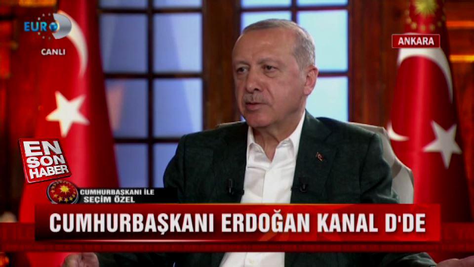 Cumhurbaşkanı Erdoğan: Muharrem İnce kaçak güreşiyor