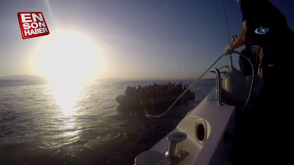 İzmir'de 47 göçmen yakalandı