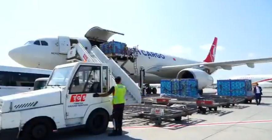 Türk kirazı Turkish Cargo ile dünya markası olma yolunda