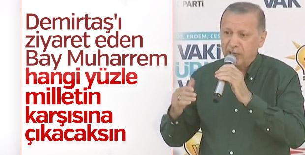 Erdoğan: İnce ne yüzle vatandaşın karşısına çıkıyor