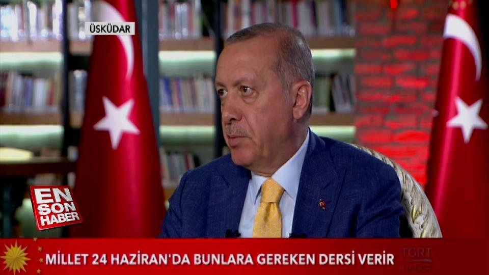 Cumhurbaşkanı Erdoğan: OHAL'e ara verebiliriz
