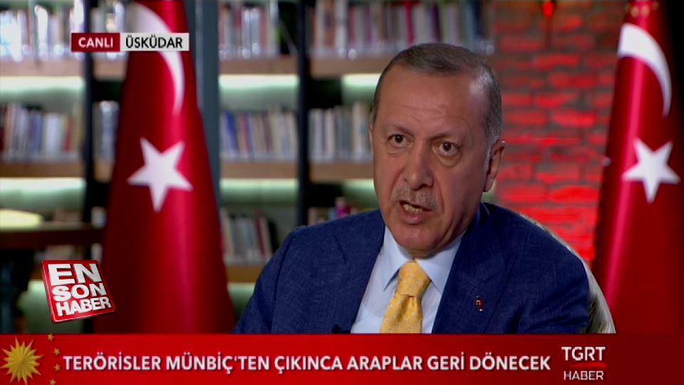 Erdoğan'dan ABD'ye S-400 yanıtı