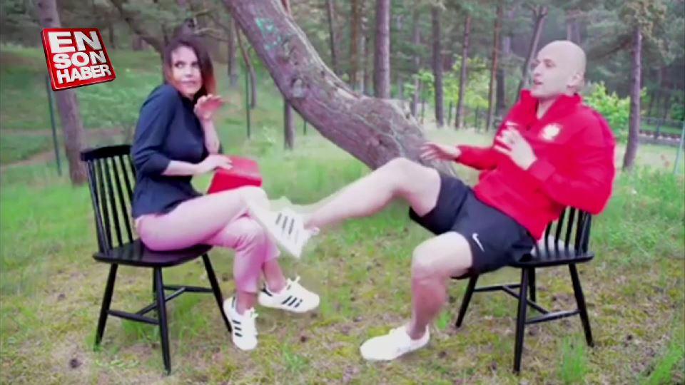 Kadın gazeteciyi kurtaran Polonyalı futbolcu