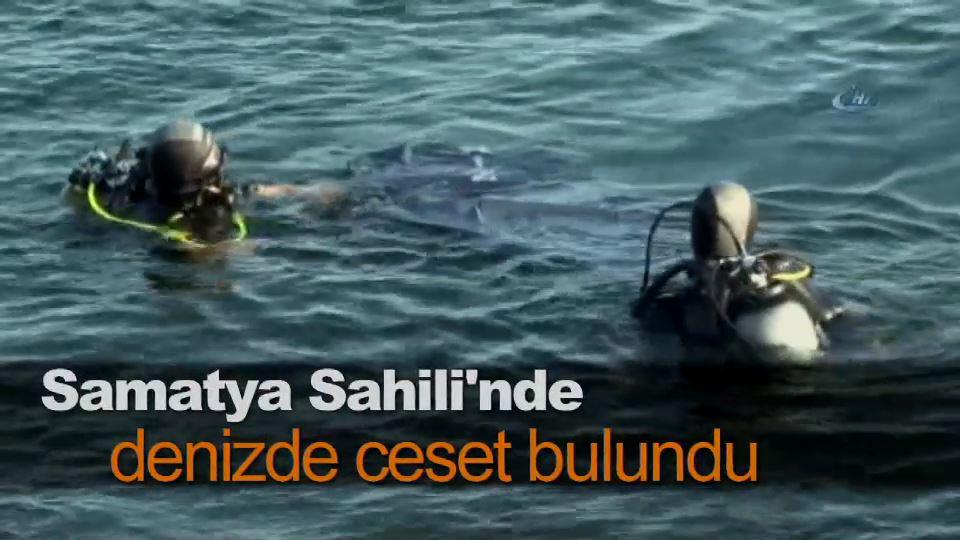 Samatya Sahili'nde denizde ceset bulundu