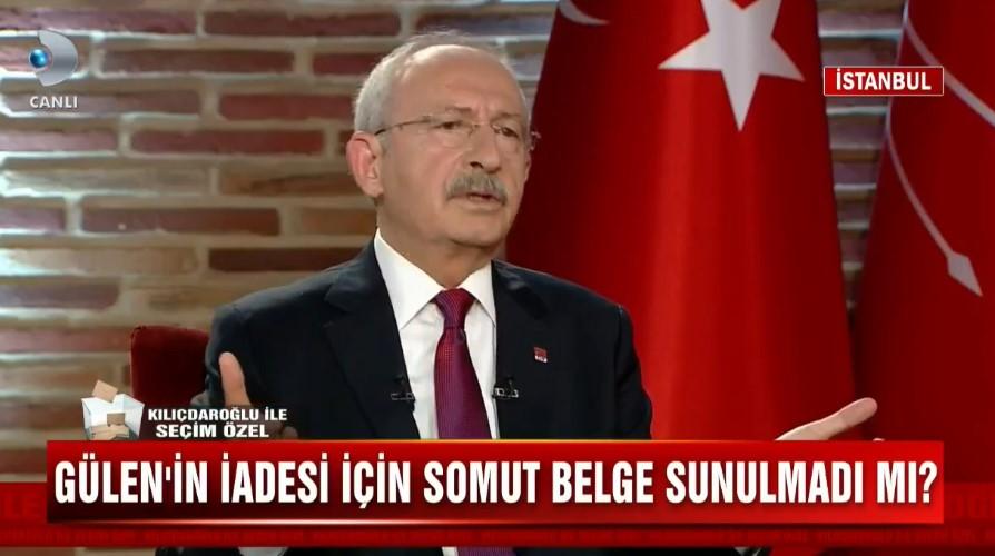 Kılıçdaroğlu: Dosyalara göre Gülen'in iade edilmesi lazım