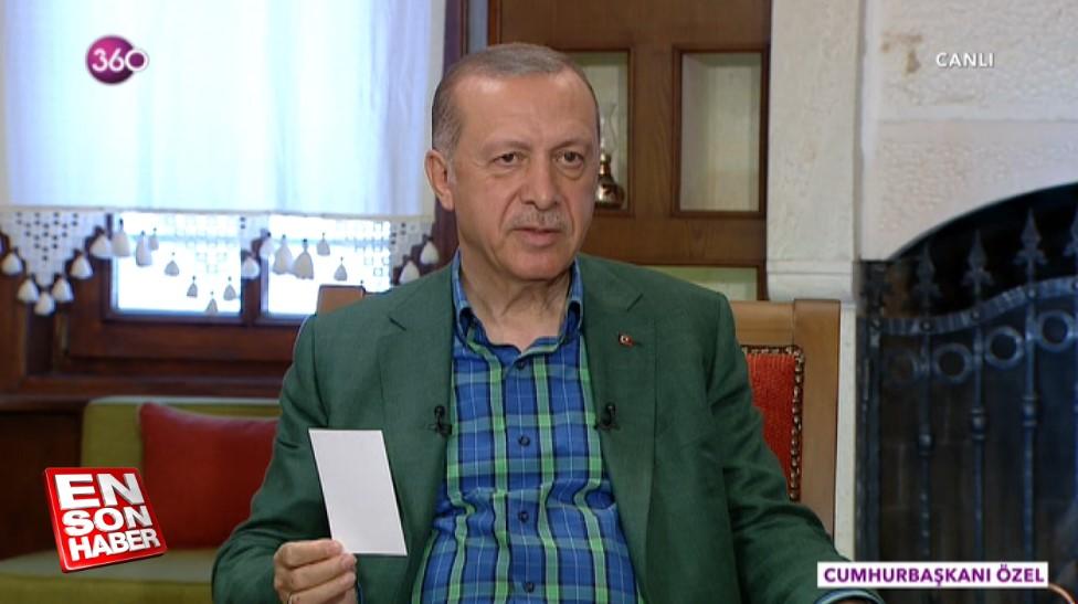 Erdoğan: ABD yine hüsrana uğradı