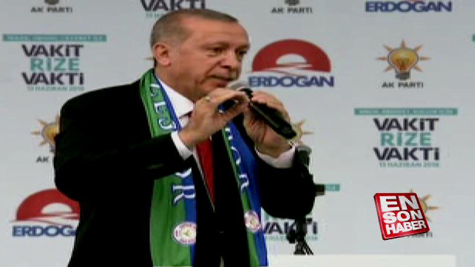 Erdoğan'dan muhalefete: Siz kekle uğraşın