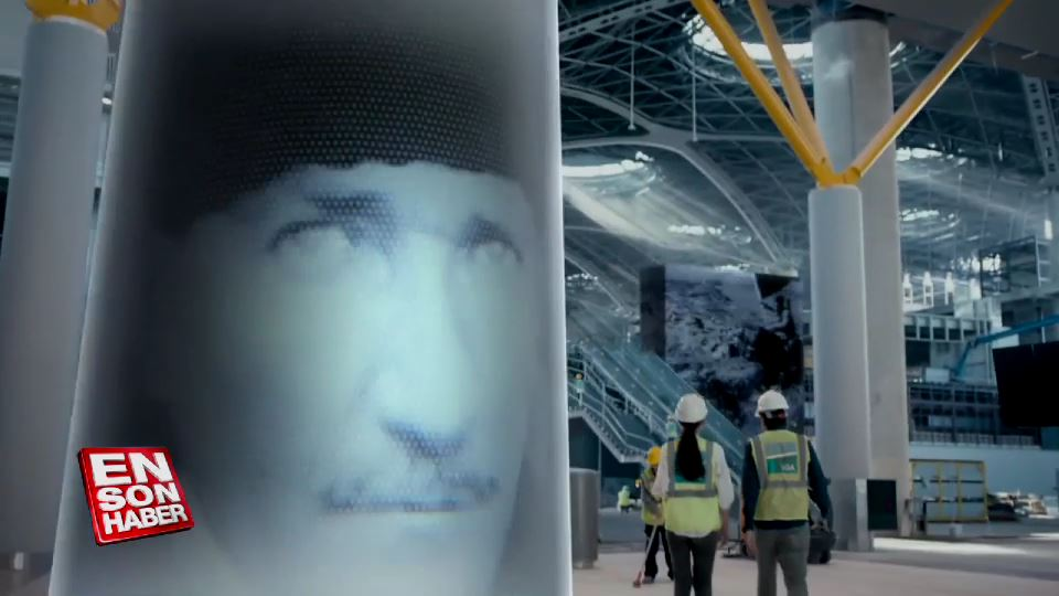 İstanbul Yeni Havalimanı'nın son reklam filmi yayınlandı
