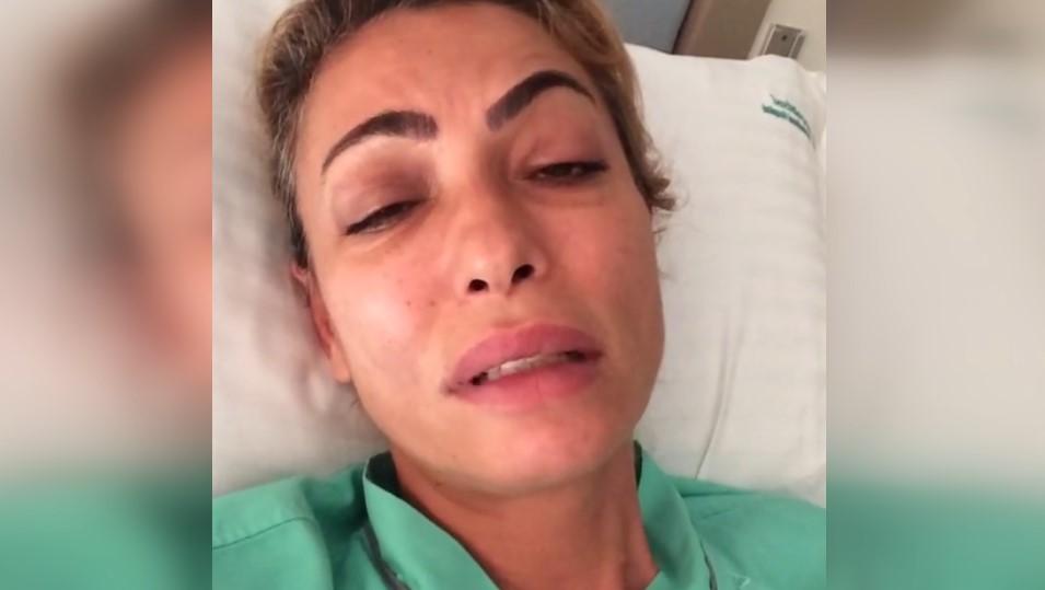 Leyla Bilginel sivrisinek ısırdığı için hastanede