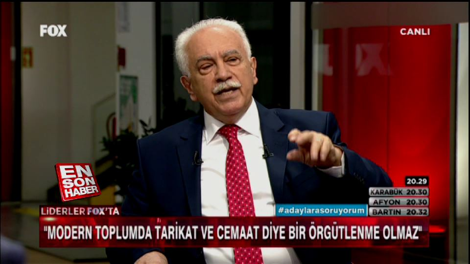 Perinçek: FETO HDP'ye oy verin çağrısı yaptı
