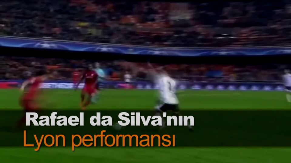 Rafael da Silva'nın Lyon performansı