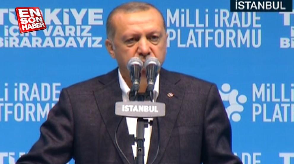 Cumhurbaşkanı Erdoğan: Vekilimizin kardeşini katledenler PKK'lı
