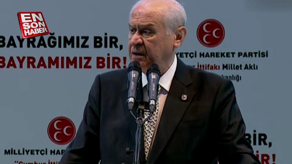 Devlet Bahçeli: MHP anketle kundaklanamaz