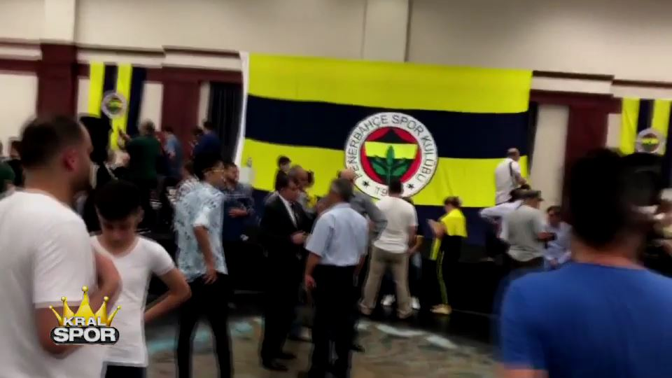 Fenerbahçe bayramlaşma töreninde G.Saray marşı çalındı