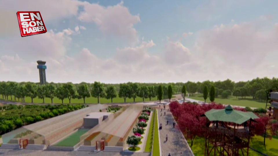 İstanbul Millet Bahçesi'nin ilk görüntüleri