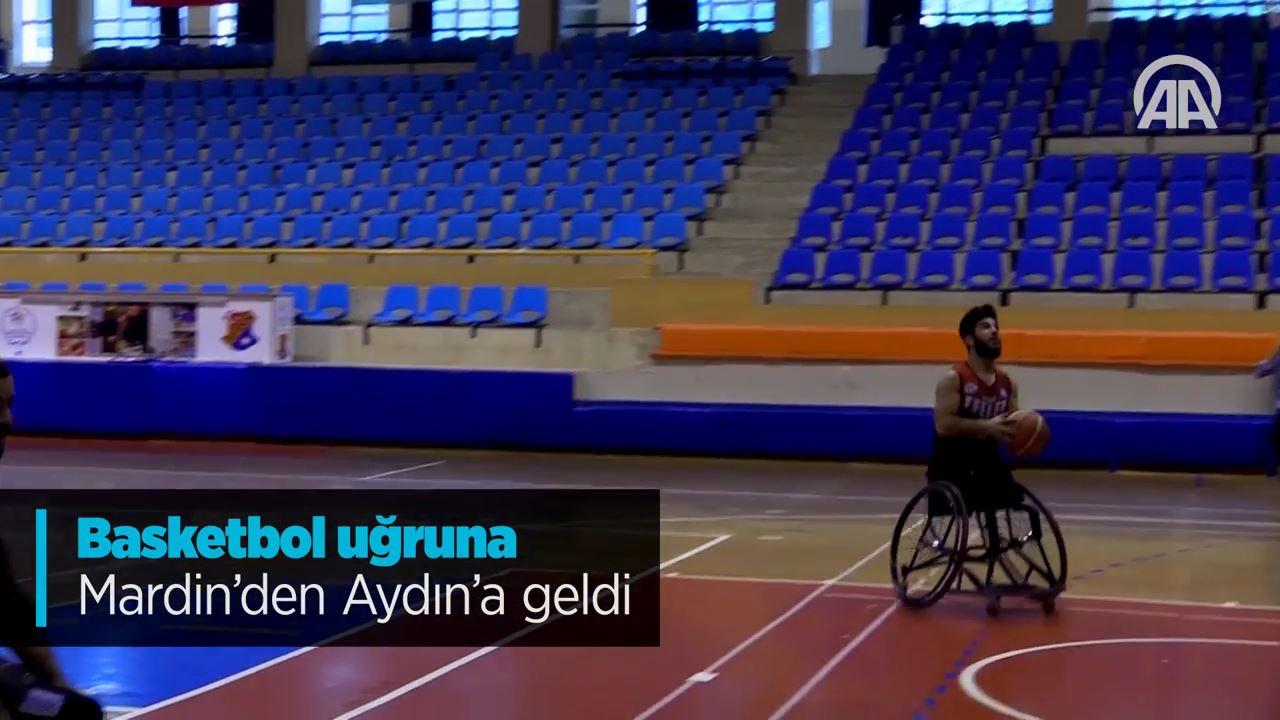 Mardin'den Aydın'a uzanan basketbol aşkı