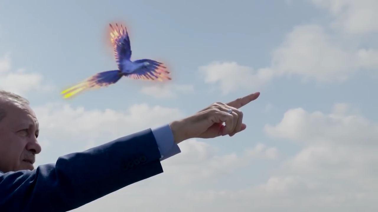 Ak Parti Reklam Filmi: Zümrüdü Anka