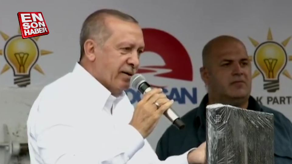 Cumhurbaşkanı Erdoğan'dan İnce'ye yorgun cevabı