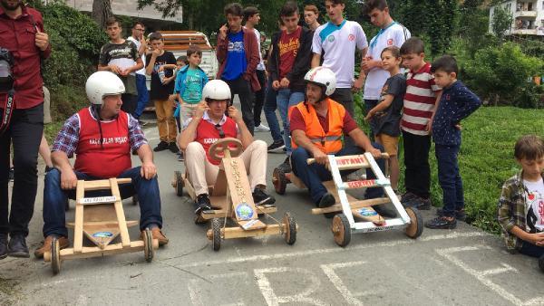 Rize'de Laz Ralli yarışması düzenlendi