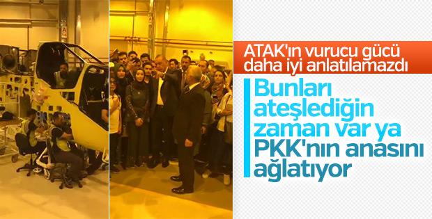 Erdoğan: Ataklar PKK'nın anasını ağlatıyor