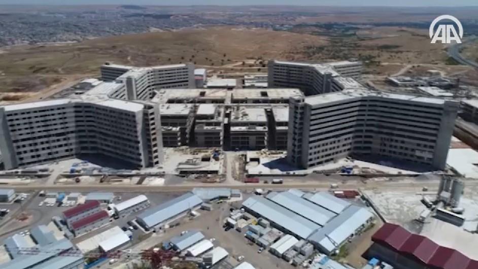 Gaziantep şehir hastanesine 2020'de kavuşacak