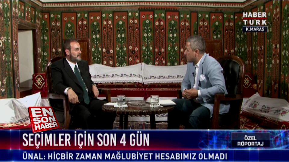 Mahir Ünal: Muharrem İnce CHP'nin zencisi