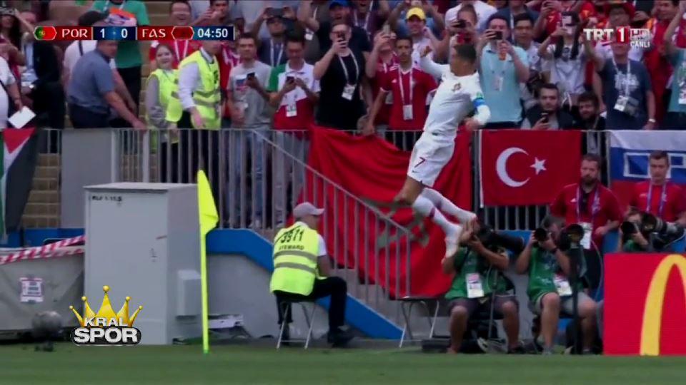 Ronaldo Fas'a da gol attı