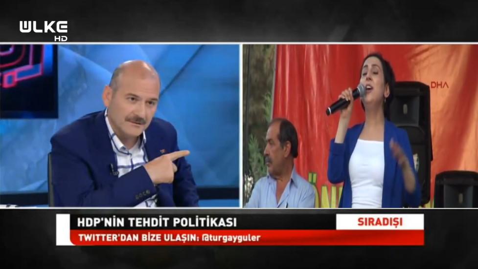 Bakan Soylu'dan Figen Yüksekdağ'a: Biz ona 4 duvar verdik