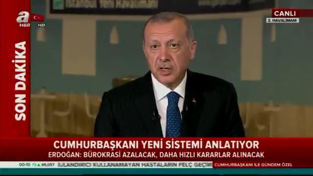 Cumhurbaşkanı Erdoğan: Devleti şirket gibi yönetme kabiliyeti geliyor