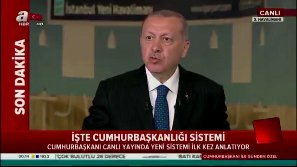 Cumhurbaşkanı: Türkiye'ye özel bir sistem