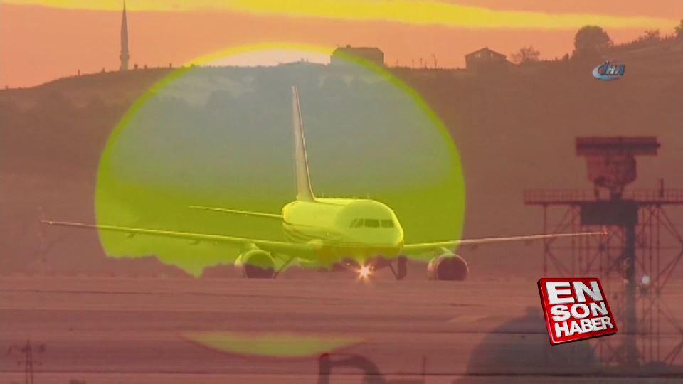 TC-ANK İstanbul Yeni Havalimanı'na indi