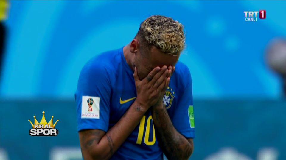 Brezilya kazandı, Neymar ağladı