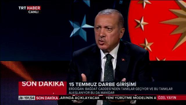 Cumhurbaşkanı Erdoğan: Kılıçdaroğlu darbeye karşı değil