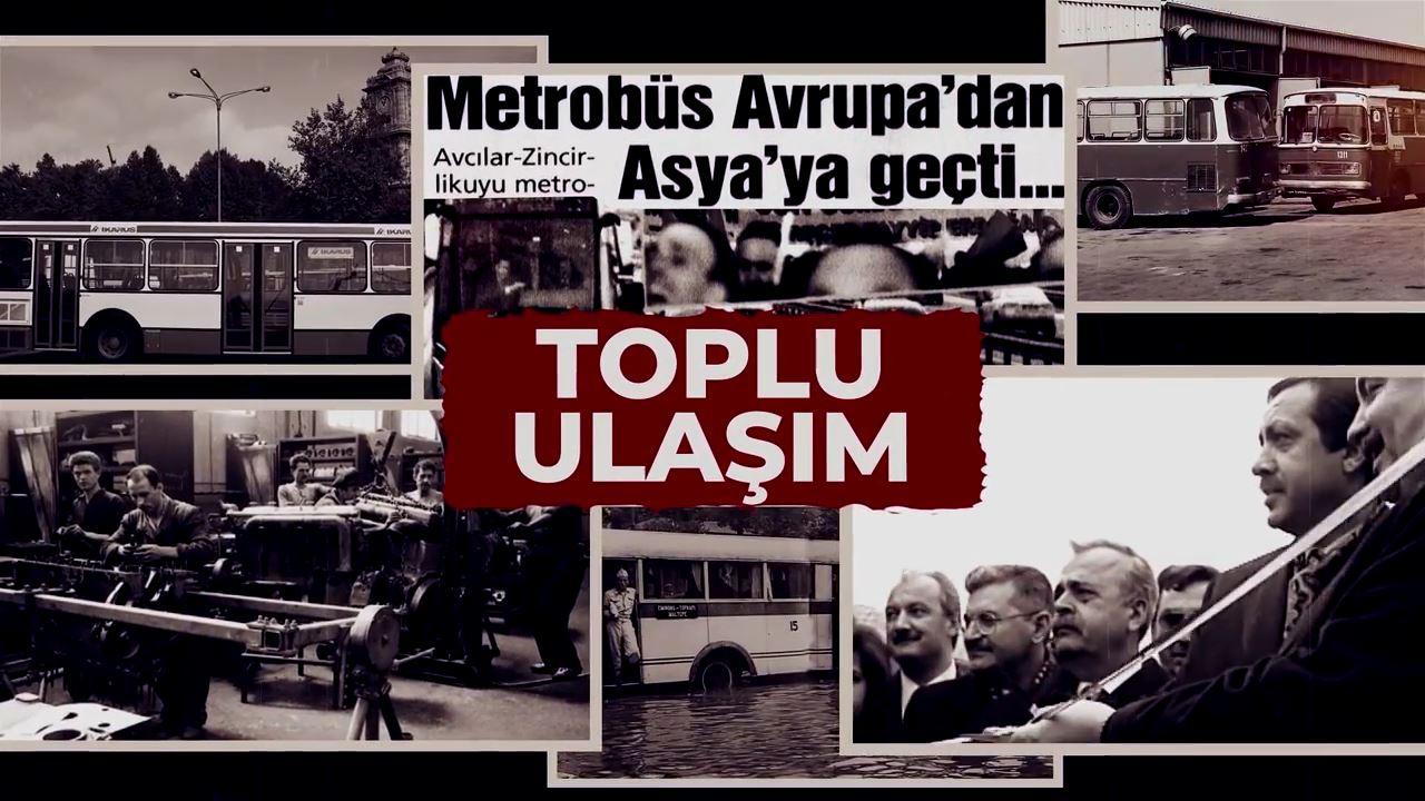 İstanbul'un Toplu Ulaşımdaki Büyük Değişimi