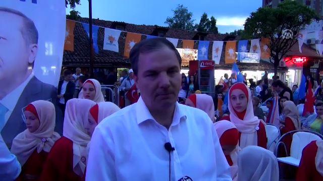 Sancak'tan Cumhurbaşkanı Erdoğan'a destek