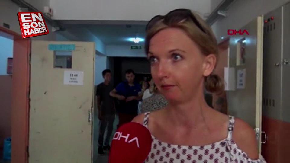 Antalya'da yabancı gelinler oy kullandı