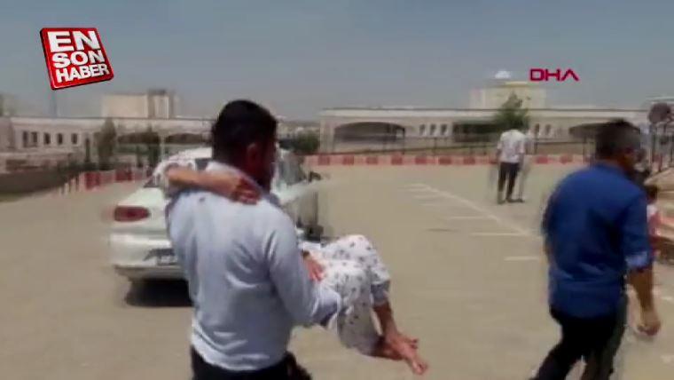 Babaannesini sandığa kucağında taşıdı