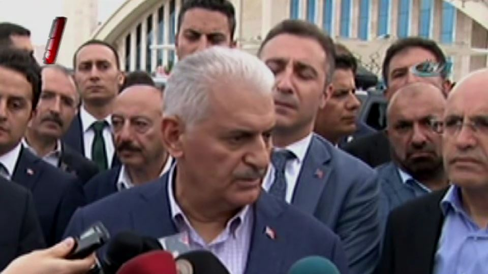 Binali Yıldırım: Erzurum'daki olay kan davası
