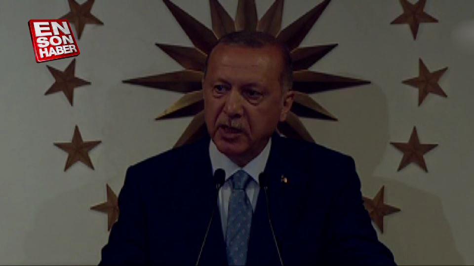 Cumhurbaşkanı Erdoğan'ın zafer konuşması