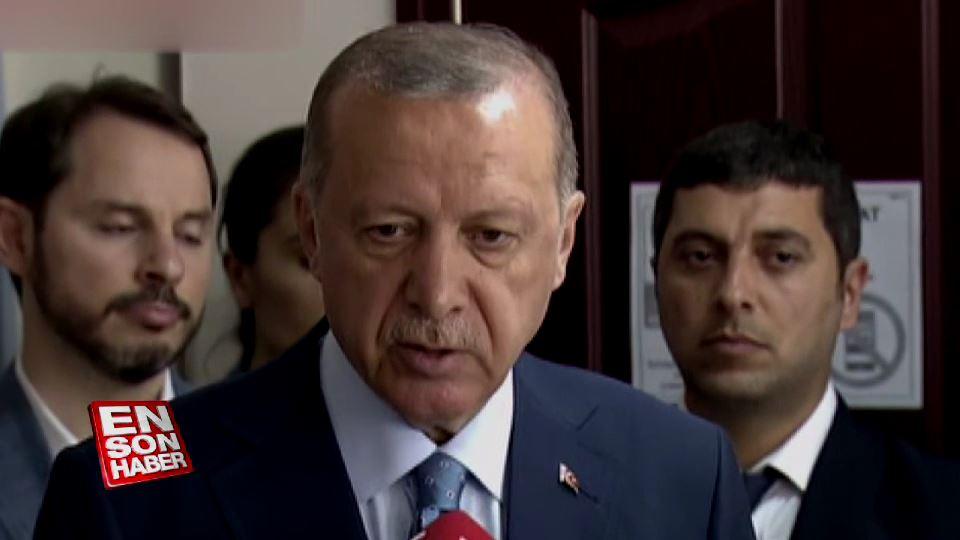 Cumhurbaşkanı Erdoğan: Katılım iyi görünüyor