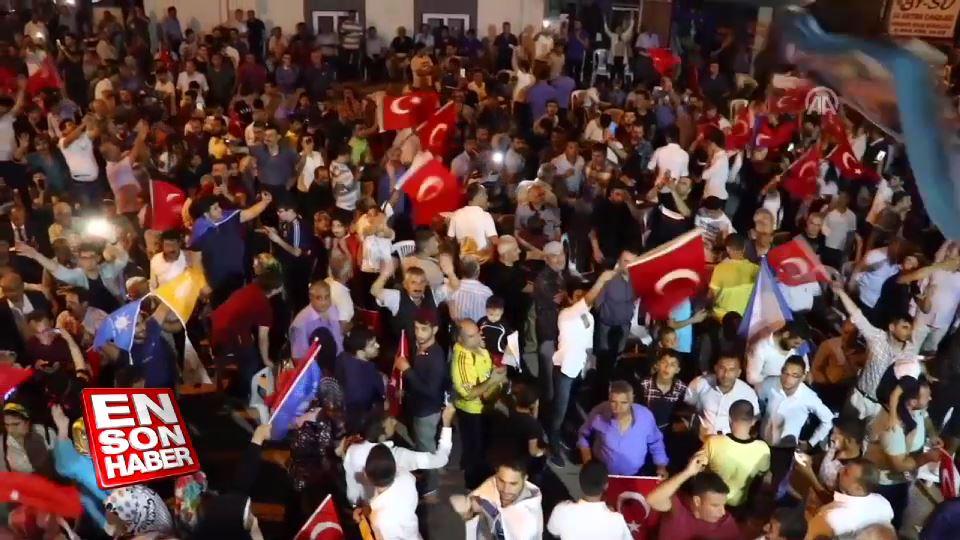 Hatay ve Osmaniye'de Cumhur İttifakı kutlamaları