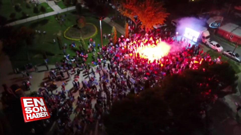 Kasımpaşa'da kutlamalar başladı