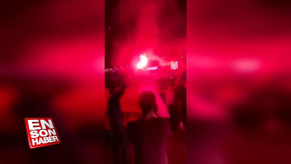 Katar'da Erdoğan'ın seçim başarısından dolayı kutlamalar yapılıyor