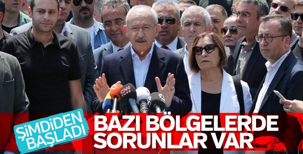 Kemal Kılıçdaroğlu oyunu Ankara'da kullandı