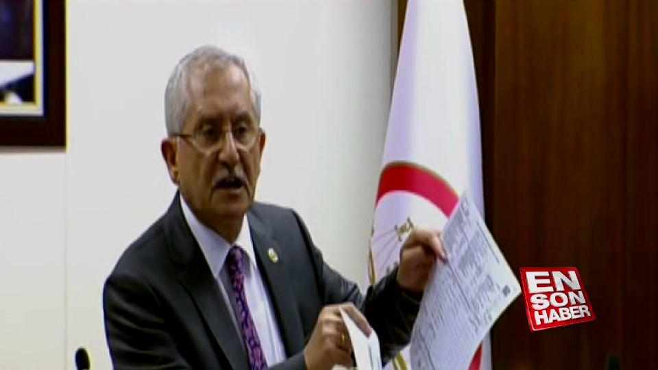 YSK Başkanı seçim sonucu açıkladı
