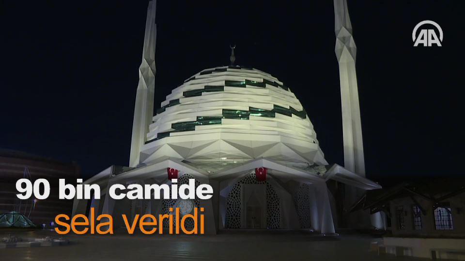 90 bin camide sela verildi