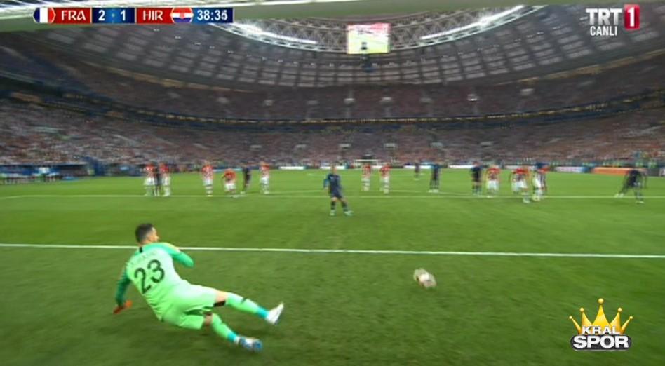 Fransa 2-1 Hırvatistan Gol Antoine Griezmann (p)
