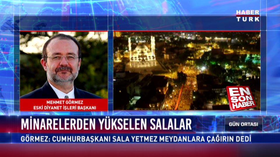 Mehmet Görmez, 15 Temmuz gecesini anlattı