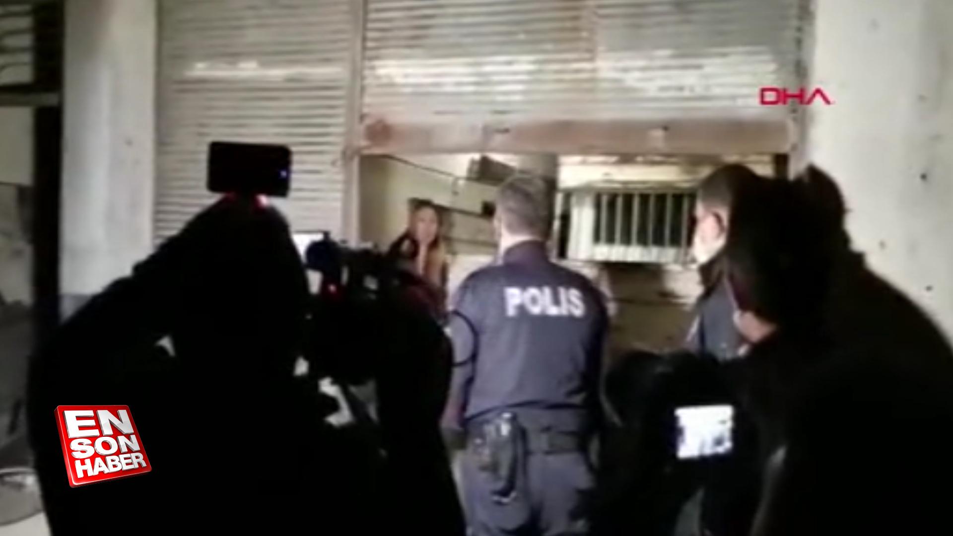Denizli'de eski eşinin alıkoyduğu bayanı polisler kurtardı